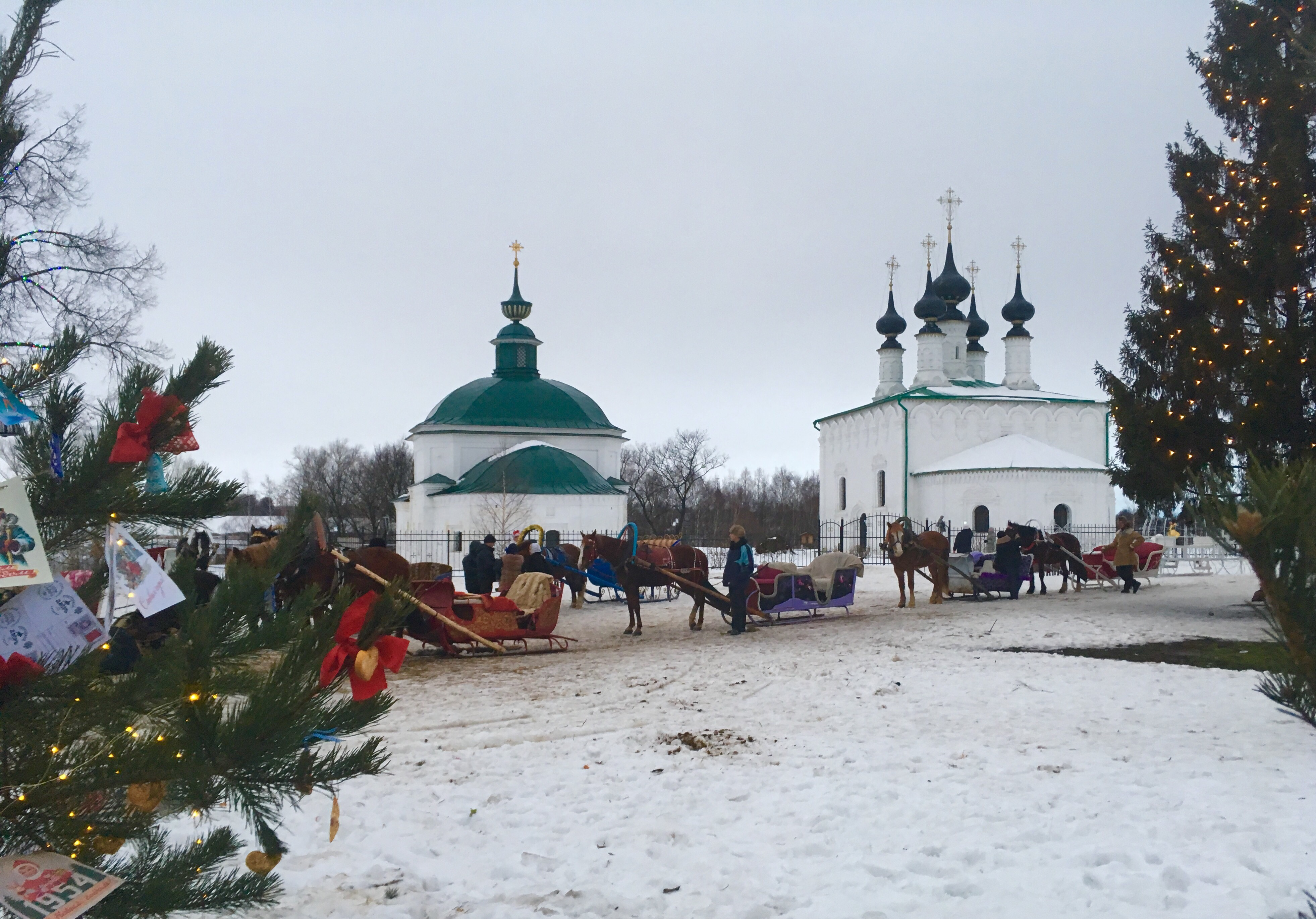 How to celebrate New Year in Suzdal